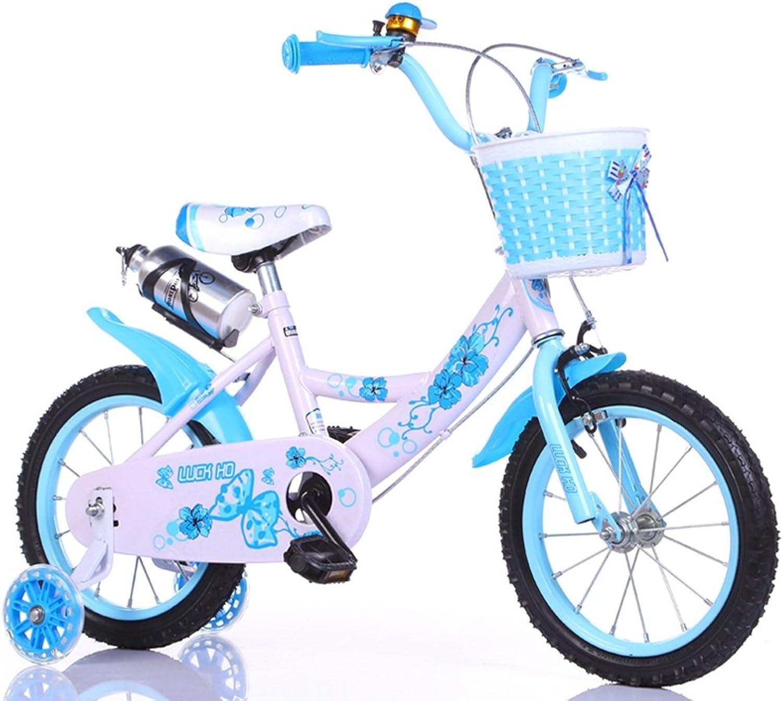 bajo precio del 40% LiuJF-Fitness Equipment Fácil de Llevar en Bicicleta, Bicicleta, Bicicleta, Niños y niñas Bicicleta Bicicleta Infantil de Seguridad Infantil 2-9 años de Edad bebé Rueda Auxiliar Bicicleta 88-121cm  tomar hasta un 70% de descuento