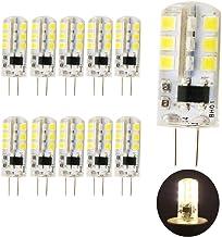 10 stuks G4 LED-lampen warm wit 3W 260lm vervanging voor 25W halogeenlampen 220V AC, 3000K, 360 graden, led pin sokkellamp...