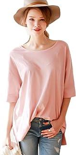(リザウンド) ReSOUND レディース トップス カットソー 七分袖 デザイン シャツ シンプル 綿 275