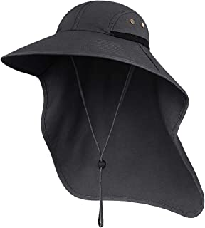 Outdoor Sun Hat for Men with 50+ UPF Protection Safari...