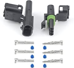 WEATHER PACK 3 PIN CONNECTORS 5 Sets 12-16 AWG used for cars, trucks, motorcycle, boat, trailer, marine, jetski (3 PIN)