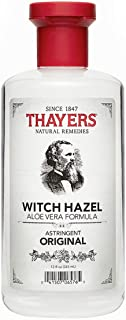 Thayers Witch Hazel with Aloe Vera, Original Astringent, 12 OZ