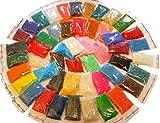 Rocailles Perlen Set 3mm 50 Farben GLASPERLEN 8/0 17000stk