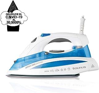 Taurus Artica 2800 Zaffiro - Plancha golpe máximo de vapor 150 g/min [Clase de eficiencia energética A++]