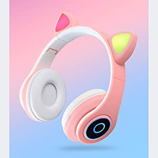 $26 » YUDIZWS Ear Hook Music Headset Cat Tube Light Headphones Foldable Wireless Headphones Free Microphone Assisted in TF Card ...