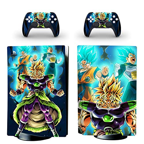 TSWEET PS5 Standard Disc Edition Skin Sticker Decal Cover for PlayStation 5 Console & Controller PS5 Skin Sticker Vinyl