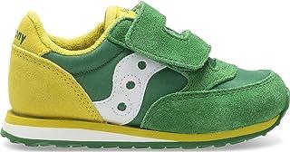 Saucony Baby Jazz Hook & Loop Sneaker Little Kid 10 Green/Yellow