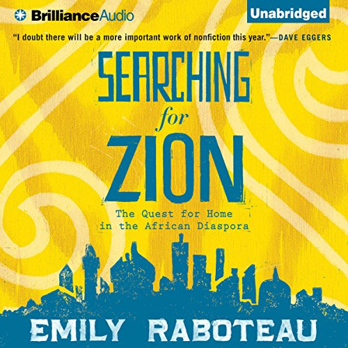 Searching for Zion audiobook cover art