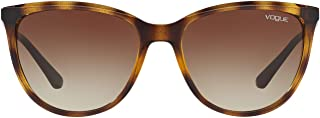 Vogue Eyewear UV protected Square Sunglasses ( 0VO5119SI|56 mm|Brown)