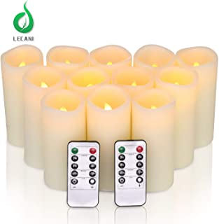 LED Candles, Flameless Candles Flickering 12 Packs (H 5