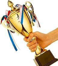 PLEASUR Trofeeën Kampioen trofee creatieve metalen trofee voetbal basketbal badminton wedstrijd prijs student wedstrijd tr...