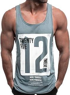 GAGA Men's Muscle Gym Workout Stringer Tank Tops Bodybuilding T-Shirts
