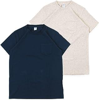 [べルバシーン] Velva Sheen Tシャツ 2パック ポケット付きクルーネック 2pac Crew Neck S/S Tee 160920