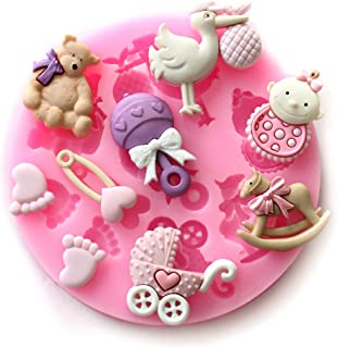 Best silicone baby mold for fondant Reviews