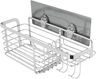 Amazon.com: KESOL Estante de ducha adhesivo organizador de ...