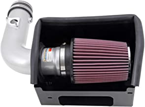 K&N Cold Air Intake Kit with Washable Air Filter: 2012-2019 Toyota/Subaru/Scion (86, GT 86, BRZ, FR-S) 2.0L H4, Polished Metal Finish with Red Oiled Filter, 69-8619TS