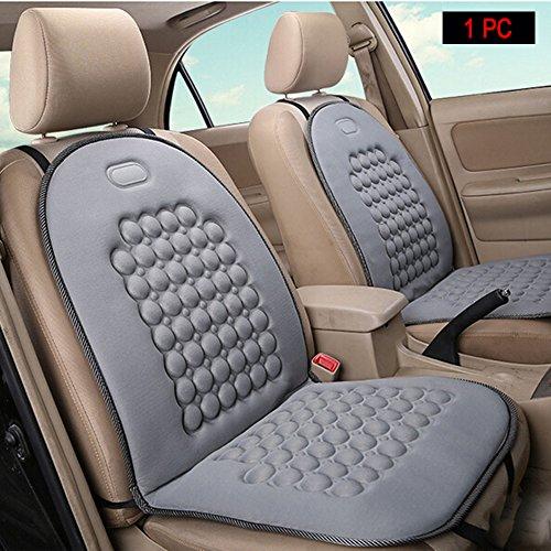HomDSim Autositzauflage mit Massage-Funktion, universelle Sitzauflage, Auto Sitzüberzug