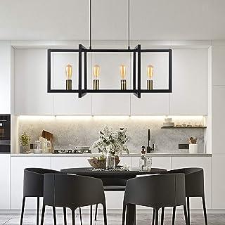 Modern 4-Light Kitchen Island Light Hanging Light Fixture...