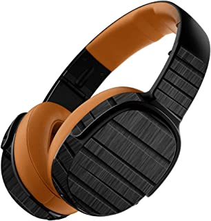 MightySkins Skin Compatible with Skullcandy Crusher 360 Wireless Headphones - Carved Wood   Protective, Durable, and Unique Vinyl wrap Cover   Easy to Apply, Remove   Made in The USA