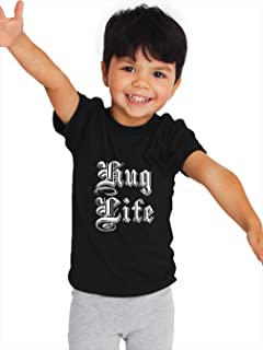 Hug Life Kids T Shirt, Skateboard Toddler T Shirt, Trendy Hipster Kids Tee, Hypebeast T Shirt