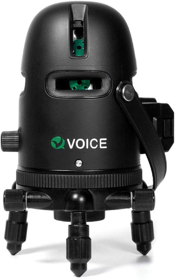 視認性の高いグリーンモデル|VOICE レーザー墨出し器 Model-G3