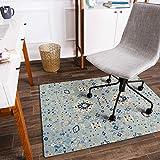Anji Mountain Rug'd Collection Chair Mat, 36 x 48-Inch, Tabriz