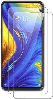 AICEK [2-pack skärmskydd kompatibel med Xiaomi Mi Mix 3, premium härdat glas skärmskydd för Xiaomi Mi Mix 3 9H hårdhet och...