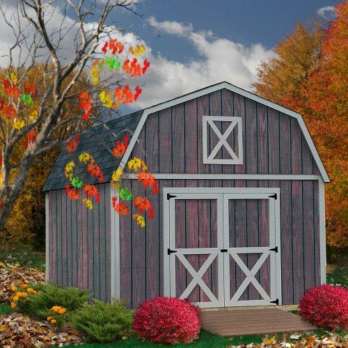 Best Barns Denver 12' X 20' Wood Shed Kit