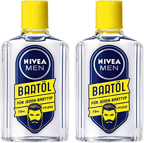 NIVEA Men Bartöl für Bart & Stoppeln mindert Juckreiz