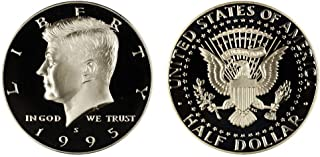 1995 S Gem Proof Kennedy Silver Half Dollar 1/2 Choice Proof - Outstanding Coin - US Mint