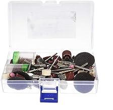 ZOYOSI Kit de accesorios de herramientas rotativas, puntas de sierra de alambre de alambre de lija
