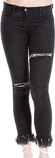 Max Studio London Women's Distressed Skinny Jeans