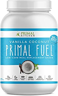 Primal Kitchen Primal Fuel Vanilla Coconut Whey Protein Powder- Updated Contains No Soy - 10g of Protein (1.86 Lbs)