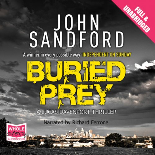 Buried Prey audiobook cover art