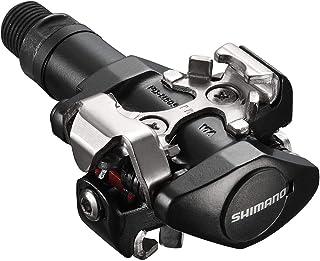 Shimano PDM505L - Pedales M-505 Spd, color negro