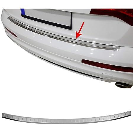 Trunk Sill Plate Cover For Audi Q7 Car Carbon Fiber Rear Bumper Protector Rear Guard Bumper Car Styling Accessories Trunk Protective
