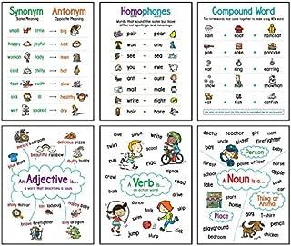 Language Arts (6-Chart Set): Anchor Chart