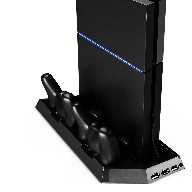 CoJoie Soporte para Playstation PS4 con Enfriador con velocidad ...