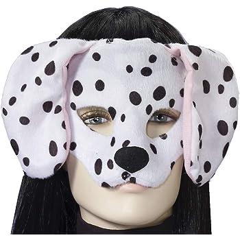 Dalmation Half Head Mask Masquerade Fancy Dress 101 Dalmations