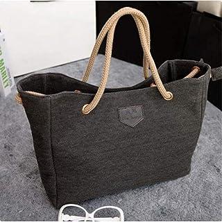 Fashion Women Handbag Solid Color Big Canvas Bag Design Classical Package Ladies Casual Over Shoulder Bags 88 Wml99
