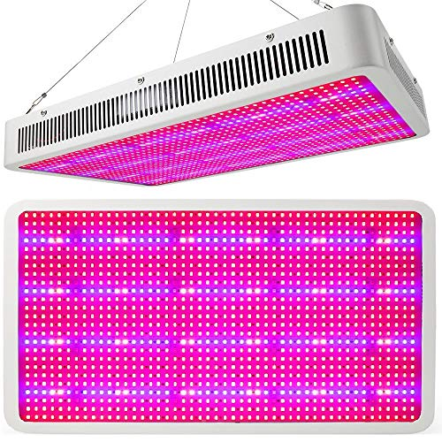 Full Spectrum 2400W LED Grow Light Panel w/Built in Ventilation System for Indoor Hydroponic Cultivation