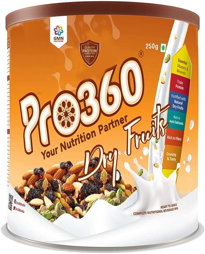 Cubicle Pro360 Dry Fruits Protein Surprise price Max 71% OFF Powder with Natural