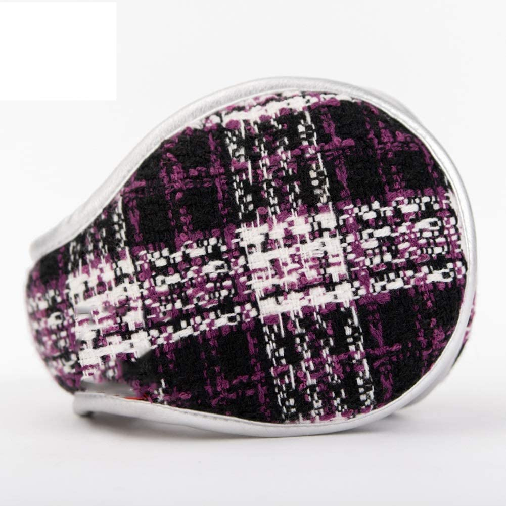 ZYXLN-Earmuffs,Earmuffs for Women Earmuffs for Men Foldable and Adjustable Size Winter Earmuffs Behind The Head Earmuffs Warm & Cozy Winter Ear Covers (Color : Purple)