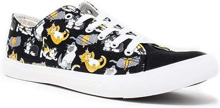 Kitten Sneakers | Cute, Fun Cat Mom Dad Lady Gym Tennis Shoe - Unisex Women Men