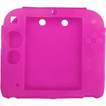 Protective Soft Silicone Rubber Gel Skin Case Cover for Nintendo 2DS (RR)