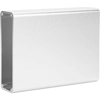 Caja de Proyecto de Aluminio de Caja Electrónica 28x84x110mm Caja de Conexiones Mate de Carcasa de Producto Electrónico de Bricolaje, Plata: Amazon.es: Industria, empresas y ciencia