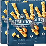 John Wm Macy's Cheese Sticks - Original Cheddar - 4 Ounce (3 Pack) | Sourdough CheeseSticks Breadsticks Made with Real Aged Cheese | Entertainment Crackers & Gourmet Savory Snacks