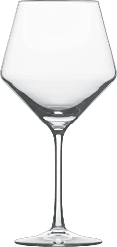 Schott Zwiesel Tritan Crystal Glass Stemware Pure Collection Burgundy, 23.4-Ounce, Set of 6
