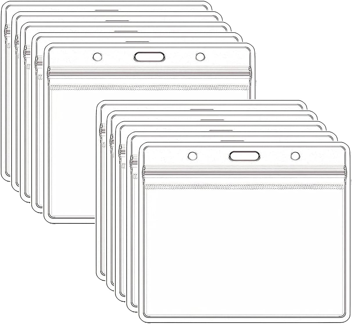 KAJUDA 4 years warranty Badge Choice Card Protector 4 X 3