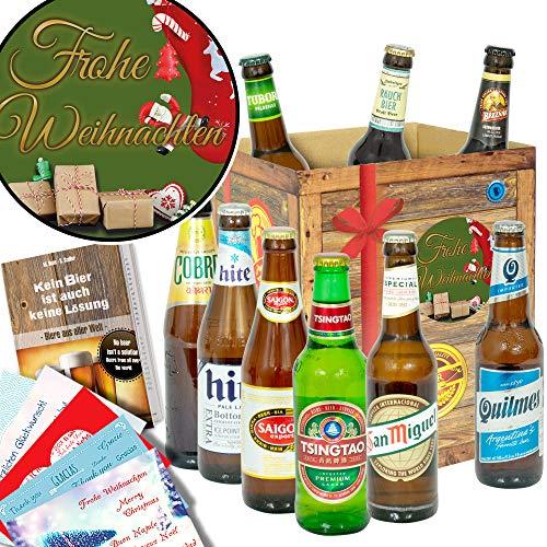 Frohe Weihnachten | Biere der Welt | Geschenkeset zu Weihnachten